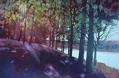 Quiet River Poster by Kris Parins