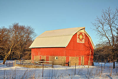 Quilted In Fayette Poster by Bonfire Photography