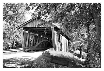 Quinlan Bridge Poster by Deborah Benoit