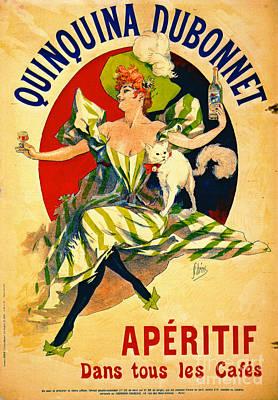 Quinquina Dubonnet Aperitif 1895 Poster by Padre Art