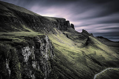 Quiraing Poster by Dave Bowman