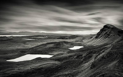 Quiraing Valley Poster by Dave Bowman