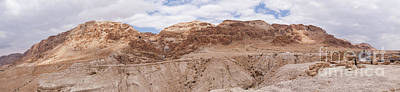 Poster featuring the photograph Qumran National Park by Yoel Koskas