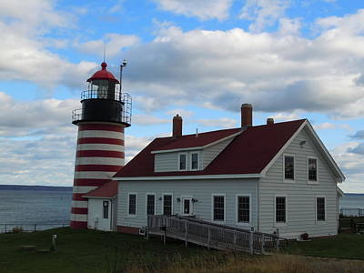 Quoddy Head Light Poster