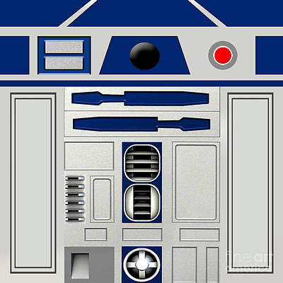 R2d2 Poster by Janis Marika