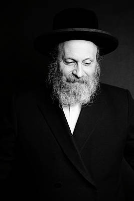 Rabbi Moshe Weinberger Poster by Marko Dashev