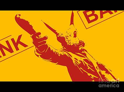 Rabbit Heist Poster by Pixel  Chimp