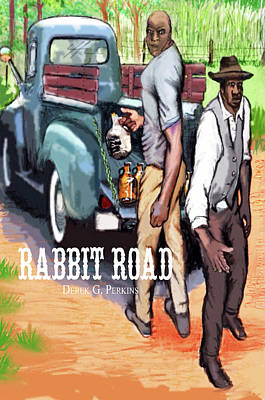 Rabbit Road Novel Print Poster by The Perkins Gallery