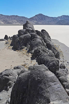 Racetrack Playa Death Valley 4 Poster by Backcountry Explorers