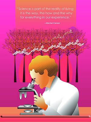 Rachel Carson's Silent Spring Poster