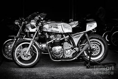 Racing Triumph Special Poster by Tim Gainey