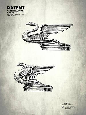 Radiator Cap Patent 1931 Poster