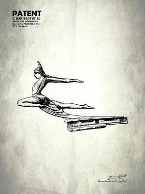 Radiator Cap Patent 1934 Poster