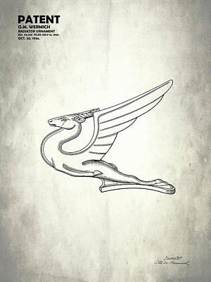 Radiator Ornament Patent 1934 Poster