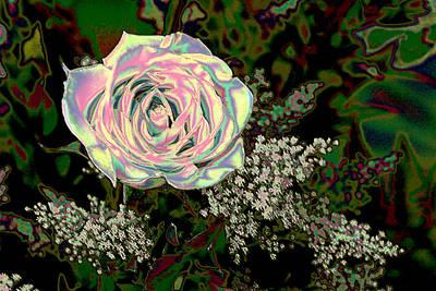 Radient Rose Poster