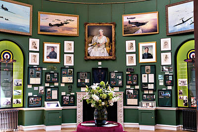 Poster featuring the photograph Raf Bentley Priory by Alan Toepfer
