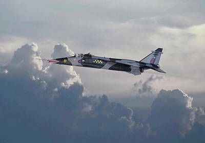 Poster featuring the photograph Raf Jaguar Gr1 by Pat Speirs