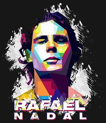 Rafael Nadal Posters Fine Art America