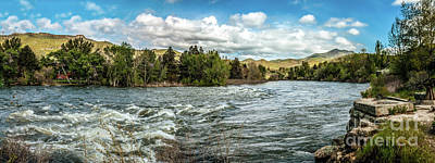 Raging Payette River Poster