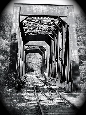 Railroad Bridge Poster