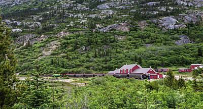 Railroad To The Yukon Poster