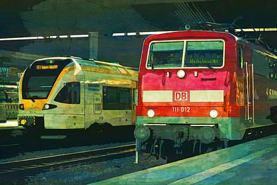 Railway Train S Bahn Rail S Bahn  Poster