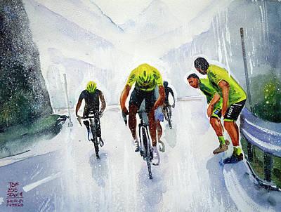 Rain And Hail At The Top Poster