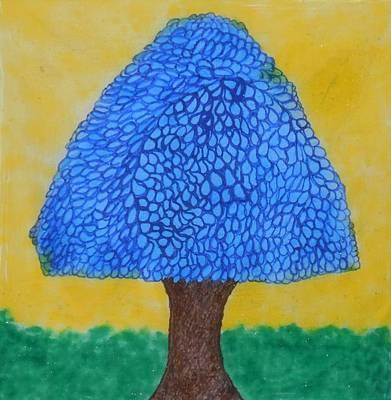 Rain Harmony Tree Poster