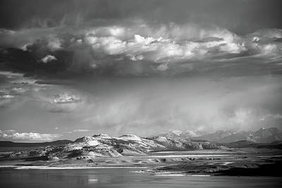 Poster featuring the photograph Rain Over Crater Mountain by Alexander Kunz