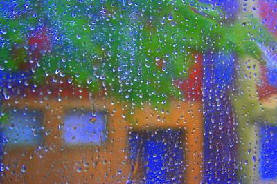Rain Rain Go Away Poster by Julie Lueders