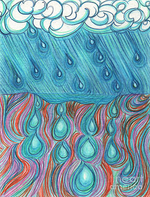 Rain Saturation By Jrr Poster