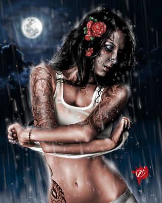 Rain When I Die Poster