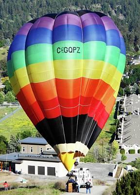 Rainbow Balloon 5 Poster