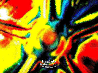 Rainbow Bliss #051347 Poster by Barbara Tristan