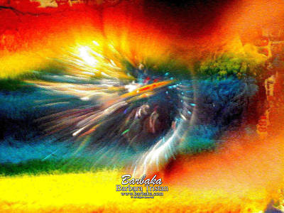 Poster featuring the photograph Rainbow Bliss #053329 by Barbara Tristan