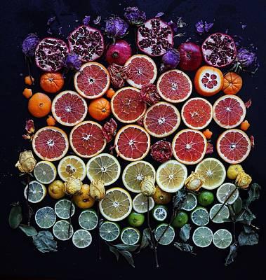 Rainbow Citrus Etc Poster