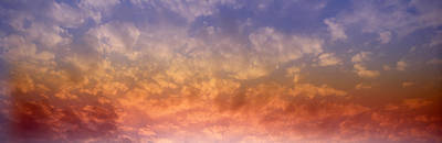 Rainbow Clouds Poster by Panoramic Images