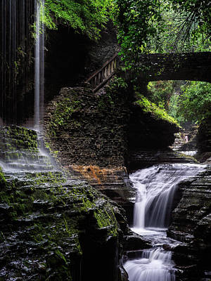 Poster featuring the photograph Rainbow Falls by Edgars Erglis
