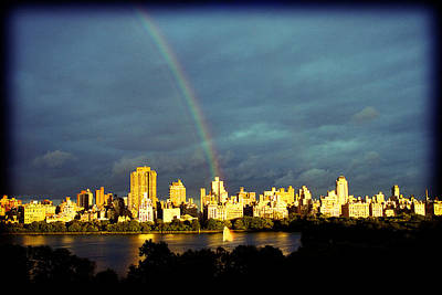 Rainbow In The City Poster
