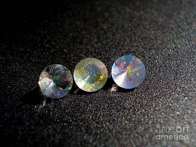Rainbow Opal Poster