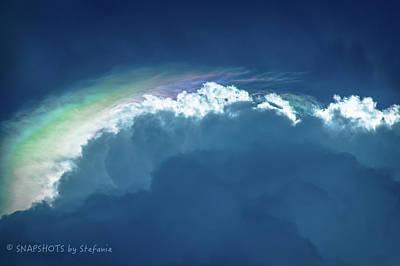 Rainbow Peeking Poster