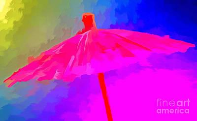 Rainbow Storm Poster by Krissy Katsimbras