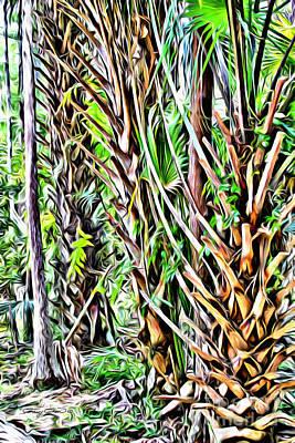Rainforest Poster by Carey Chen