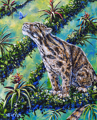 Rainforest Encounter Poster by Gail Butler