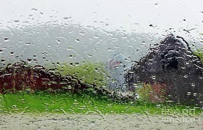 Rainy Day Farm Poster
