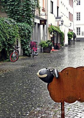 Rainy Day Smile Poster