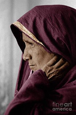 Rajasthani Tribal Woman - Pushkar, India Poster by Craig Lovell