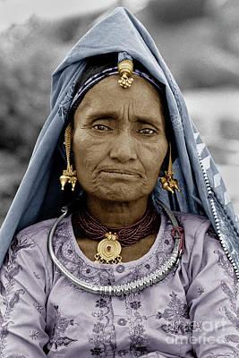 Rajathani Tribal Woman - Pushkar India 2 Poster by Craig Lovell