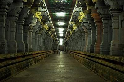 Rameshwaram Temple India Poster