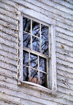 Ramshackle Window Poster by Elizabeth Dow